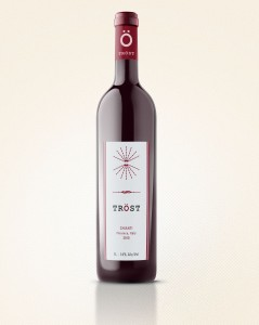 Wine Bottle Red