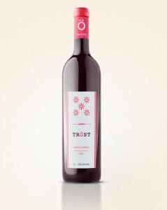 Wine Bottle Rose