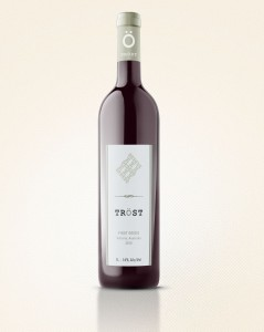 Wine Bottle White