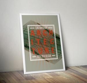 Contemporary Architecture Poster Mockup
