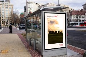 Stonehenge Ad Mockup