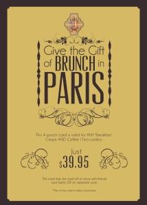 Paris Creperie Handout Ad 1