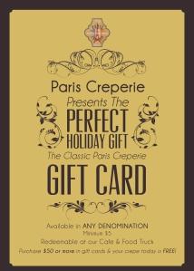 Paris Creperie Handout Ad 2