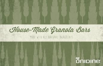 Granola Bar Flyer
